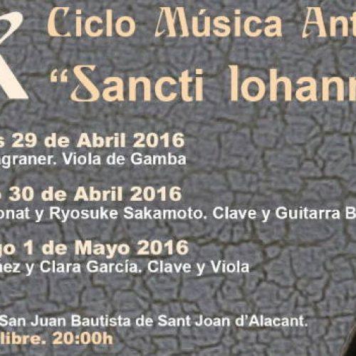 Un fin de semana para la Música Antigua