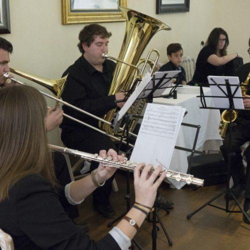 Actuaciones musicales ofrecidas por el alumnado de Vila de Sant Joan