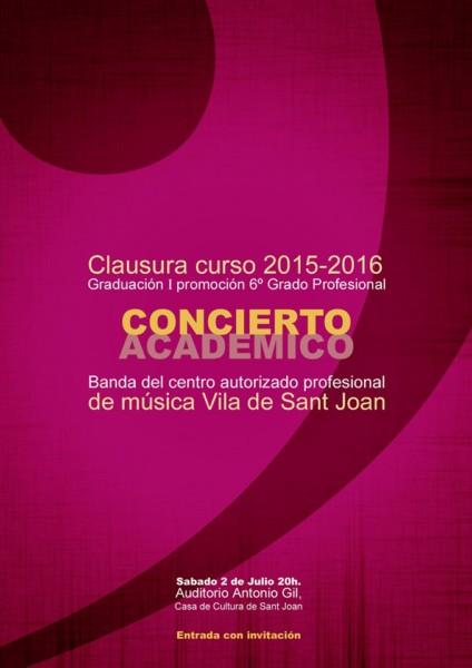 cartel concierto 2 de julio