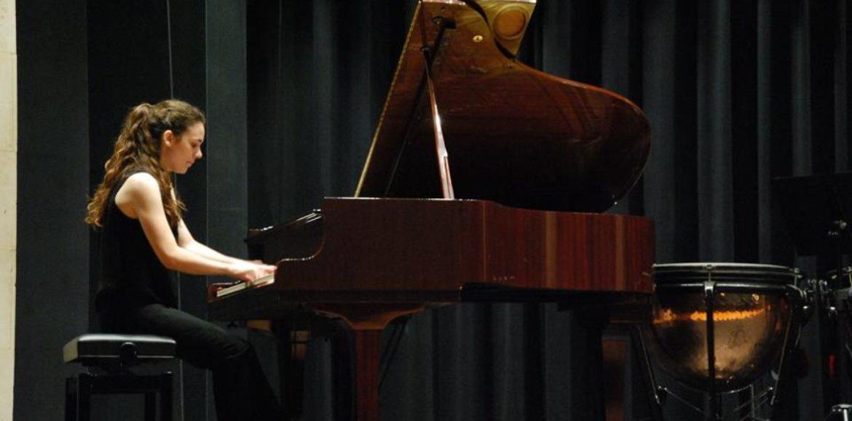 """La pianista Beatriz Gascón primer premio en el VI Memorial """"Ignacio Melón""""."""