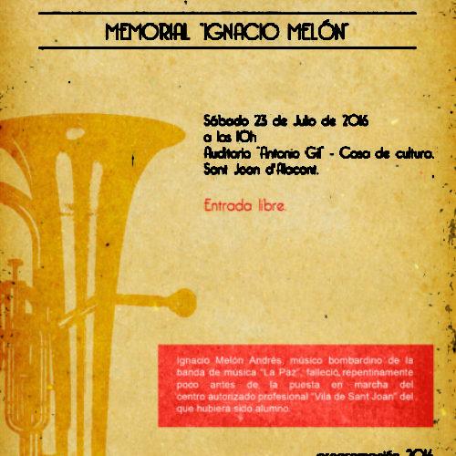 VI Concurso de Interpretación Musical Memorial Ignacio Melón