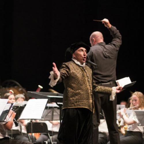 La Banda de Música La Paz participa en el FITCA.