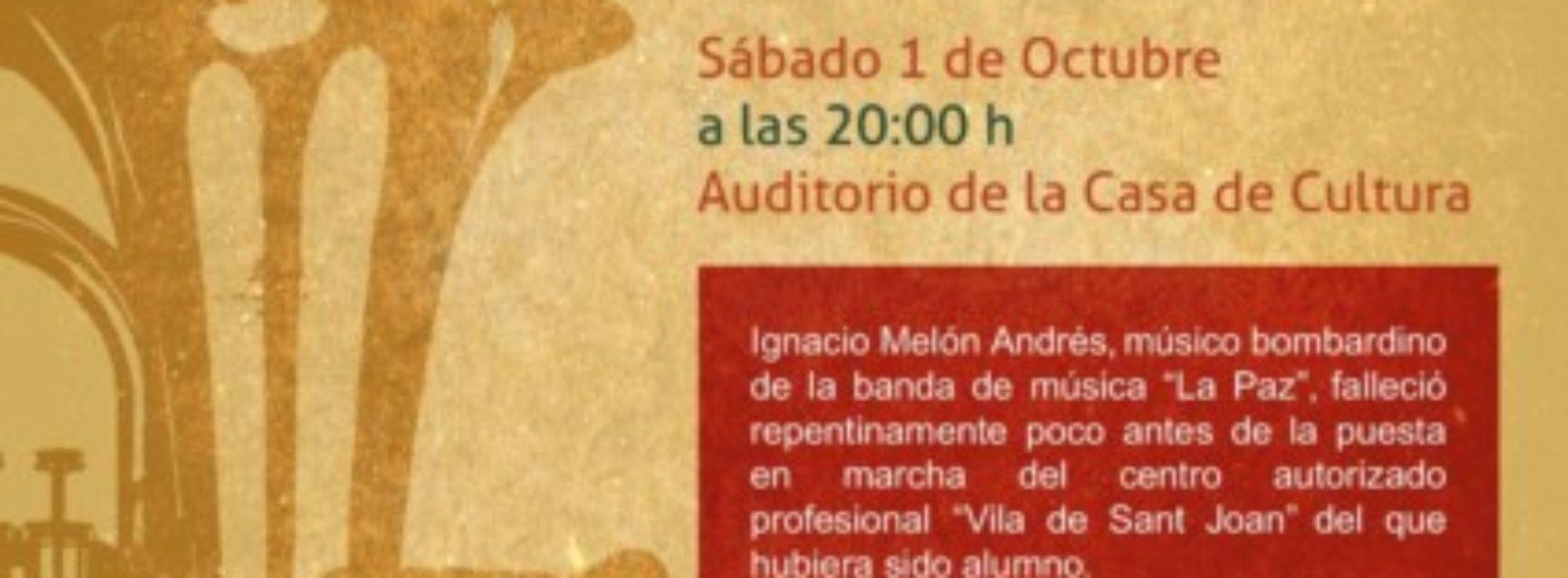 """VI Gala Memorial """"Ignacio Melón"""" del Conservatorio."""