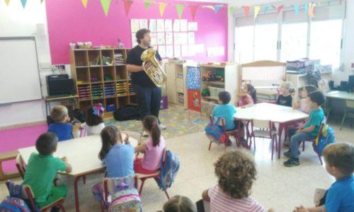 Un año más: viento en las aulas, actividades musicales para Educación Infantil y Educación Primaria.