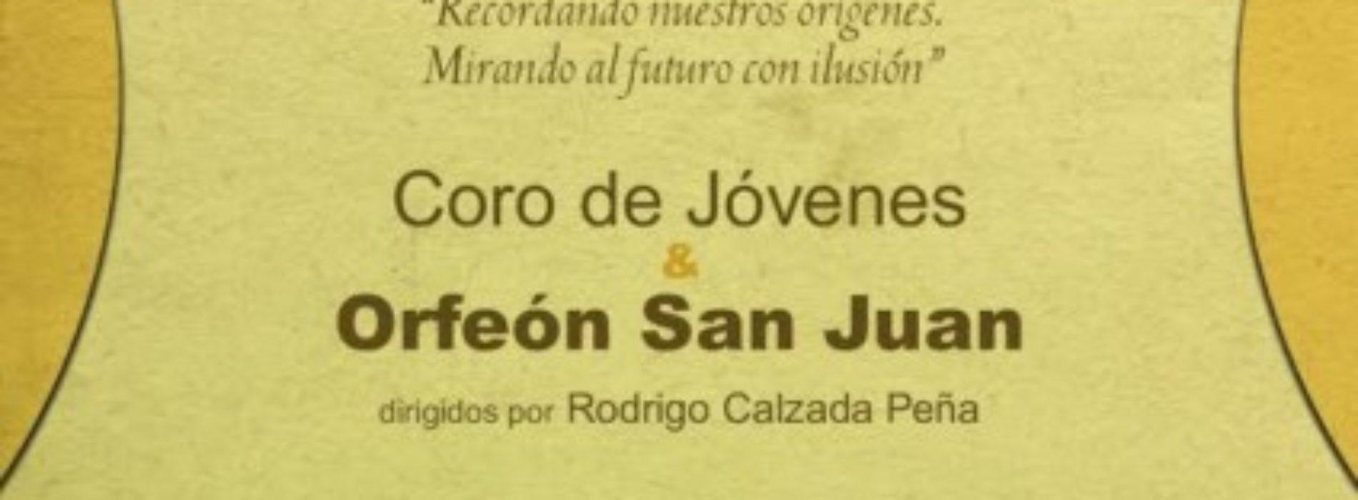 Concierto conmemorativo de los 40 años del Orfeón San Juan.