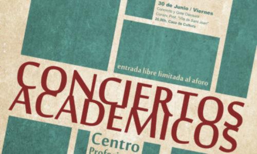 Conciertos Académicos del último trimestre.