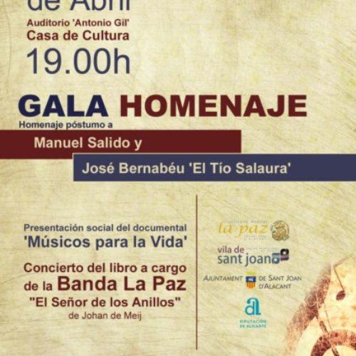 La Sociedad Musical La Paz presenta una emotiva gala para el día del libro.