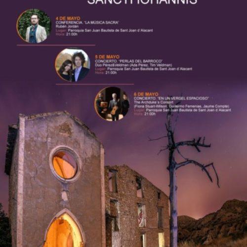 """La Sociedad Musical """"La Paz"""" presenta la XI Edición del Ciclo de Música Antigua """"Sancti Iohannis"""