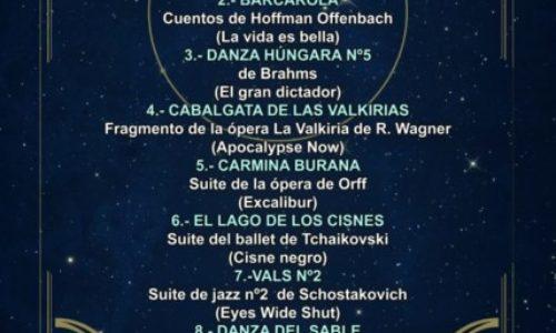 Concierto inaugural del 18º Festival de Cine con Luis Ivars