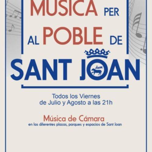 'MÚSICA PER AL POBLE DE SANT JOAN'
