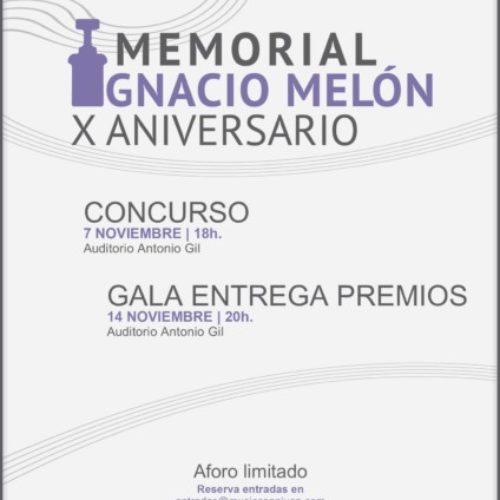 ⚜️X Concurso Interpretación Memorial Ignacio Melón⚜️